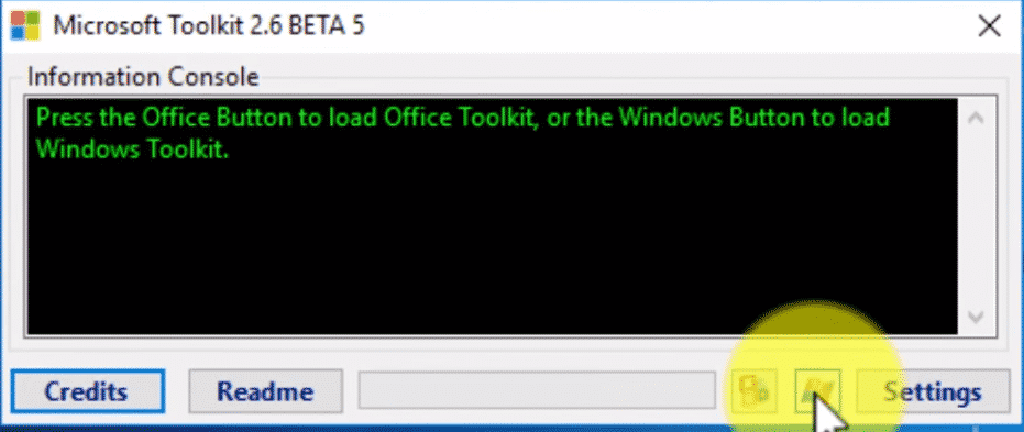 Activate Using MS Toolkit